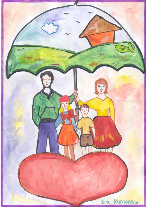 Семейный герб с фото своими руками