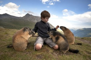 Marmot and the Boy