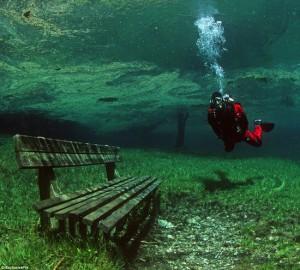 Подводный парк Зеленого озера 1