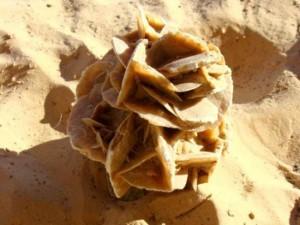 """Необычный минерал """"роза пустыни"""""""